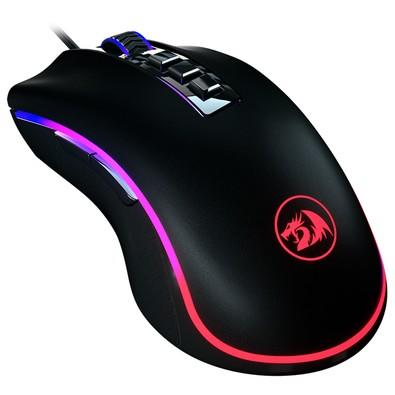 01d18fd4a41 KaBuM! - Mouse Gamer Redragon King Cobra, RGB, 8 Botões, 24000DPI - M711