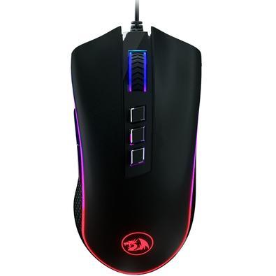 Mouse Gamer Redragon King Cobra, RGB, 8 Botões, 24000DPI - M711