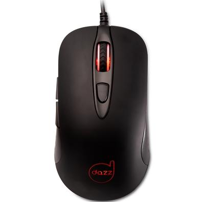 Mouse Gamer Dazz Reload, LED, 6 Botões, 3200DPI - 625055