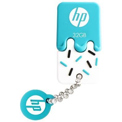 Pen Drive HP V178B 32GB, USB 2.0, Mini, Azul - HPFD178B-32