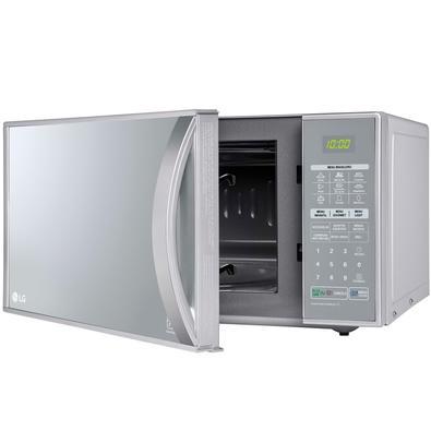 Micro-ondas LG Grill 900W/1000W, 30L, 110V, Prata - MH7053R