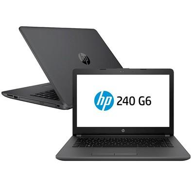 Notebook HP 240 G6, Intel Core i3-7020U, 4GB, 500GB, Windows 10 Pro, 14´ - 3XU36LA