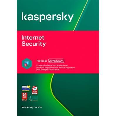 Kaspersky Internet Security 2020 Multidispositivos 3 PCs Renovação - Digital para Download