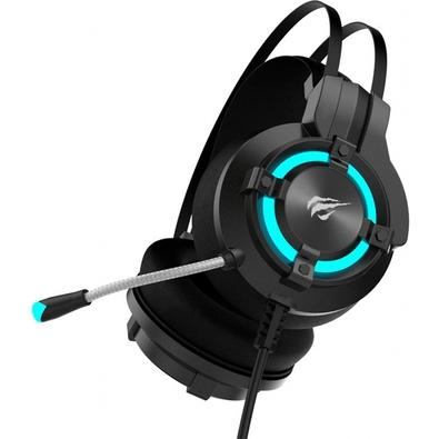 Headset Gamer Havit LED 7.1, Som Surround, Driver 40mm - HV-H2212U