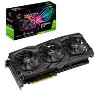 Placa de Vídeo Asus ROG Strix NVIDIA GeForce GTX 1660 Ti Advanced 6GB, GDDR6 - ROG-STRIX-GTX1660TI-A6G-GAMING
