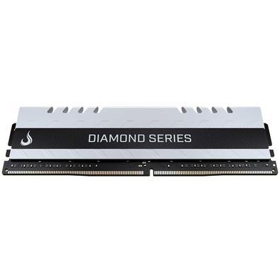 Memória Rise Mode Diamond, 8GB, 2400MHz, DDR4, CL17, Branco - RM-D4-8G-2400DW