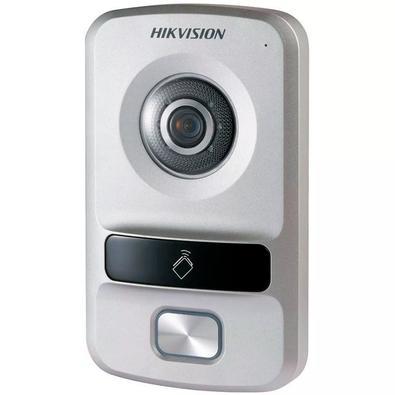Sistema de Interfone IP Hikvision Câmera 1.3MP, 720p, 1 Tecla - DS-KV8102-IP