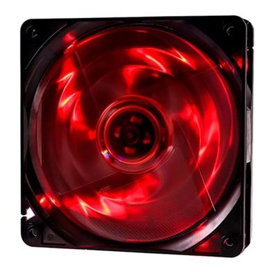 Cooler Fan OEX F10 4 LED Vermelho, 12cm