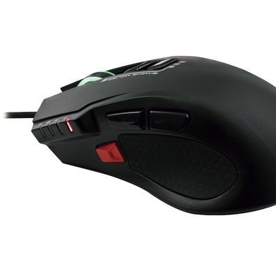 Mouse Gamer OEX Weapon, RGB, 8 Botões, 4000DPI - MS317