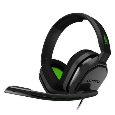 Headset ASTRO Gaming A10 para Xbox, PlayStation, PC, Mac - Preto/Verde - 939-001837