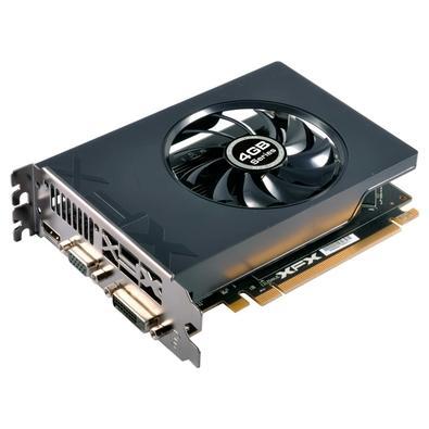 Placa de Vídeo XFX AMD Radeon R7 240 4GB, DDR3 - R7-240A-4TS4