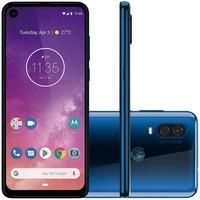 Smartphone Motorola Moto One Vision 128GB, 48MP, Tela 6.3´, Azul Safira - XT1970-1