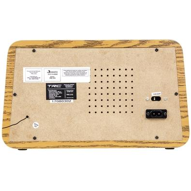 Caixa de Som Portátil TRC 212, Bluetooth, 35W RMS, USB, Retrô