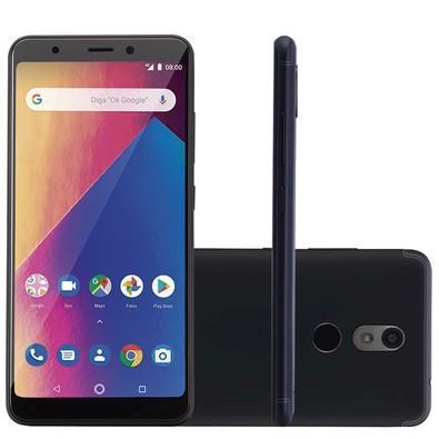 Smartphone Multilaser MS60X Plus, 16GB, 13MP, Tela 5.7´, Preto + Capa e Película - P9083