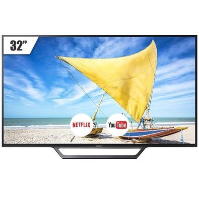 Smart TV LED 32´ Sony, Conversor Digital, 2 HDMI, 2 USB, Wi-Fi - KDL32W655D/Z