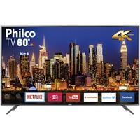 Smart TV LED 60´ 4K Philco, 3 HDMI, 2 USB, Wi-Fi - PTV60F90DSWNS