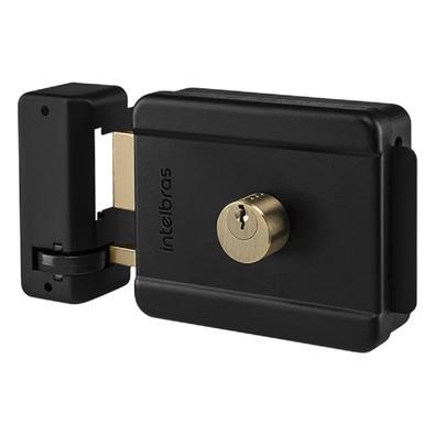 Fechadura Elétrica Intelbras FX 500, Cilindro Fixo - 4679040