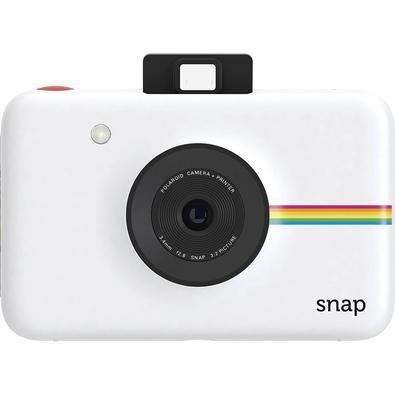 Câmera Instantânea Polaroid Snap, 10mpx, 10 Fotos, Cartão MicroSD 8GB, Branca - POLSP01W