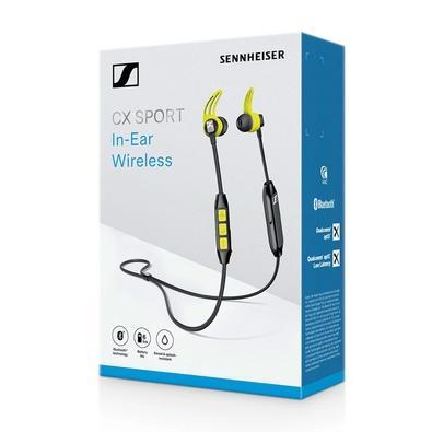 Fone de Ouvido Bluetooth Intra Auricular Sennheiser CX SPORT, USB - 508256