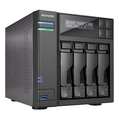 Storage Asustor NAS, 4TB, 4 Baias - AS6204T4000