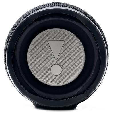 Caixa de Som Portátil JBL Charge 4, Bluetooth, 30W, À Prova D´Água, Preto - JBLCHARGE4BLK