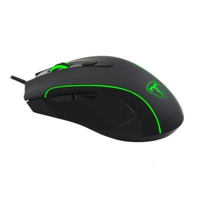 Mouse Gamer T-Dagger Private, RGB, 6 Botões, 3200DPI - T-TGM106