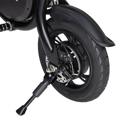 Bicicleta Elétrica Mymax Enjoy, até 25km/h, Rodas 12´, Suporta 120kg, Preto - MFYF-P12/BK