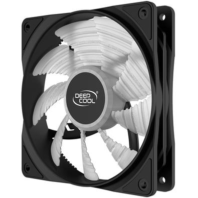 Cooler FAN Deepcool RF120R, 120mm, LED Vermelho - DP-FLED-RF120-RD