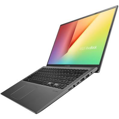 Notebook Asus VivoBook 15, Core i5-8265U, 4GB, 1TB, Windows 10 Home, Cinza Escuro - X512FA-BR566T