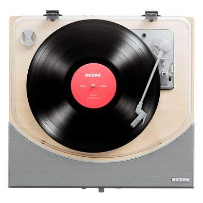 Toca Discos ION, Bluetooth, MP3, Aux., Prata - PREMIERLP