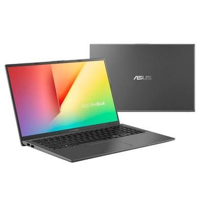Notebook Asus Vivobook, Core i5-8265U, 8GB, 1TB, Windows 10 Home, 15.6´, Cinza Escuro - X512FA-BR568T