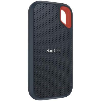 SSD Externo Portátil Sandisk, 500GB, Leitura 550MB/s - SDSSDE60-500G-G25