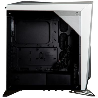 Gabinete Gamer Corsair Carbide SPEC-Omega RGB, Mid Tower, Lateral em Vidro, Branco - CC-9011141-WW