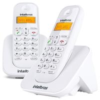 Telefone Intelbras Sem Fio TS 3112 + Ramal, Identificador de Chamadas, Branco - 4123002