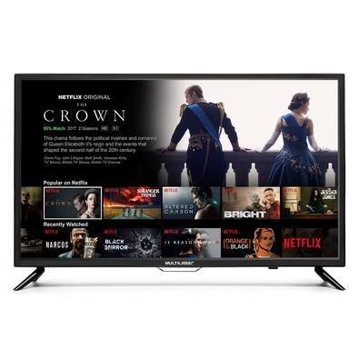 Smart TV LED 32´ Multilaser, Conversor Digital, 2 HDMI, 2 USB, Wi-Fi - TL002