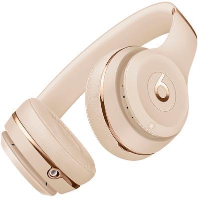 Headphone Bluetooth Beats Solo3, Com Case, Dourado - MUH42LL/A
