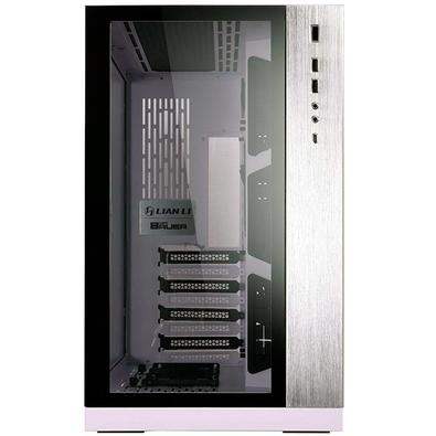 Gabinete Gamer Lian Li PC-011 Dynamic, Mini ITX / Micro ATX / ATX, Lateral e Frontal em Vidro, Branco - PC-O11 DYNAMIC WHITE