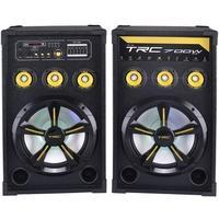 Caixa de Som Amplificada TRC 398, Bluetooth, USB, LED, 700W RMS - TRC 398