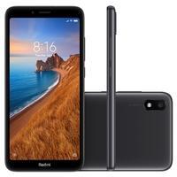 Smartphone Xiaomi Redmi 7A, 32GB, 12MP, Tela 5.45´, Preto - CX278PRE