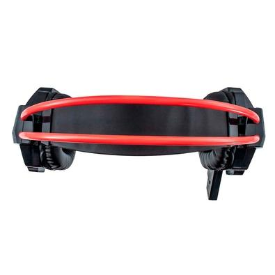 Headset Gamer Evolut, LED, Drivers 40mm, Preto e Vermelho - EG-303