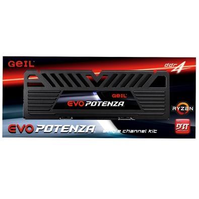 Memória Geil Evo Potenza, 8GB, 3000Mhz, DDR4, CL16 - GAPB48GB3000C16ASC