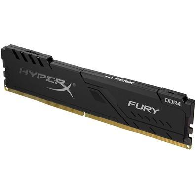 Memória HyperX Fury, 8GB, 3000MHz, DDR4, CL15, Preto - HX430C15FB3/8