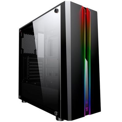 Computador Gamer NTC Vulcano II 7101, AMD Athlon 200GE, 8GB, SSD 240GB, Windows 10 PRO + Versão de Avaliação 30 dias