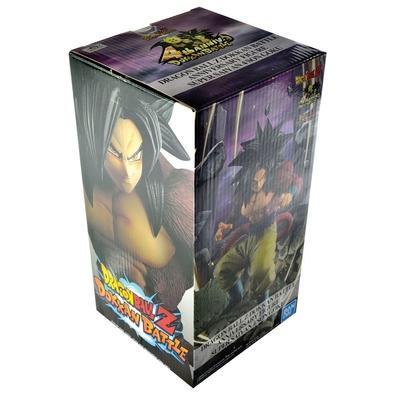 Action Figure Dragon Ball Z Dokkan Battle Anniversary, Super Saiyan 4 Son Goku, Diorama - 35781