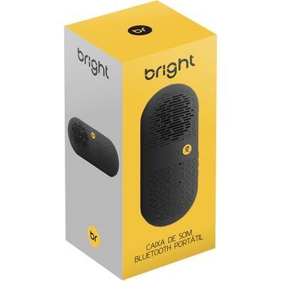 Caixa de Som Portátil Bright, Bluetooth, 5W RMS, USB - 0504