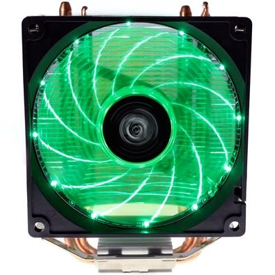 Cooler para Processador Hoopson LED Verde, AMD/Intel - SU-COOL 180