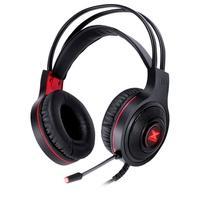 Headset Gamer Vinik VX Gaming Lugh, LED Vermelho, Drivers 40mm, Preto e Vermelho - 31539