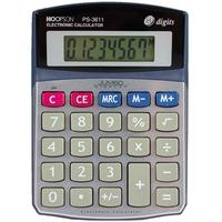 Calculadora Eletrônica Hoopson, 8 Dígitos, Bateria - PS-3611