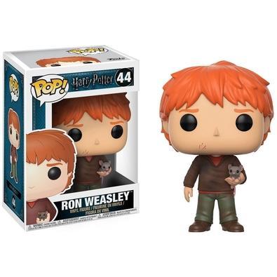 Funko POP! Ron Weasley W/ Scabbers, Harry Potter S4 - 46
