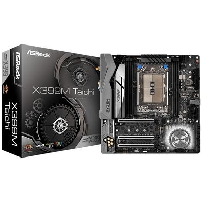 Placa-Mãe ASRock X399M Taichi, AMD TR4, Micro ATX, DDR4